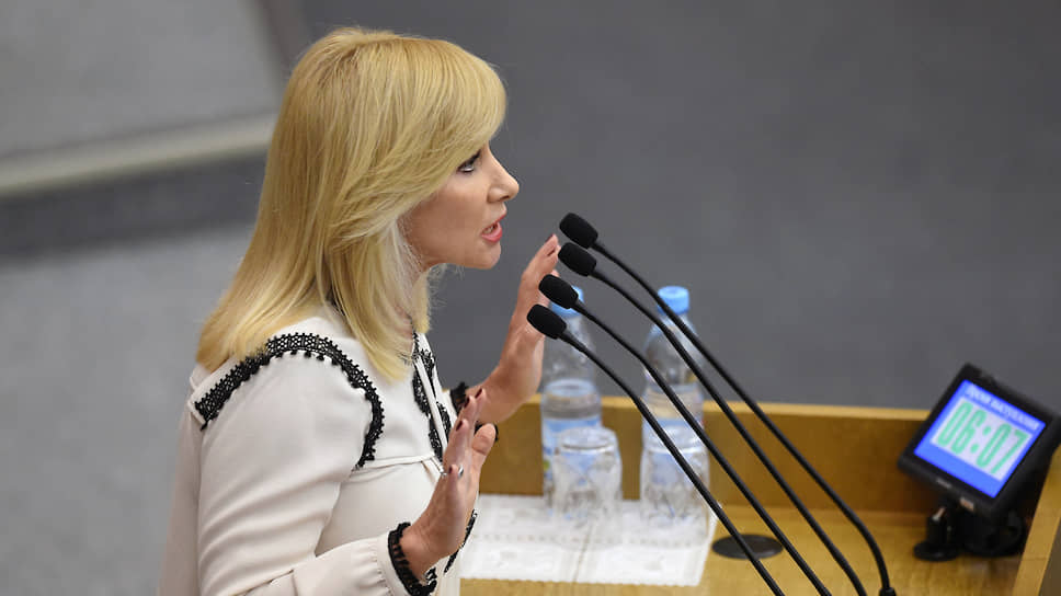 Депутат Оксана Пушкина