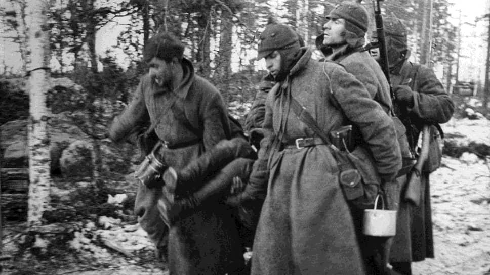 Солдаты во время финской войны, 1939 год