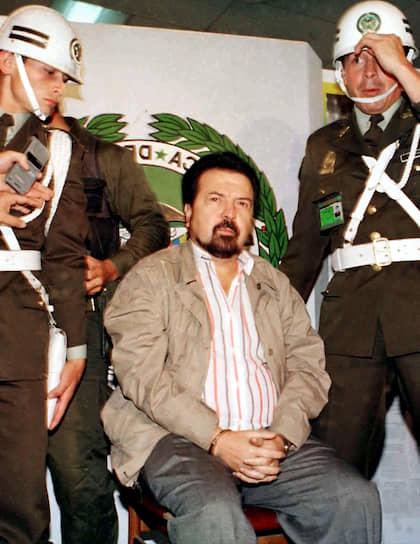 Колумбийцы <b>Хильберто Родригес Орехуэла</b> (на фото) и его брат Мигель вместе организовали картель Кали. Некоторое время картель был ответственен за поставку свыше 80% кокаина в США и 90% — в страны Европы. Гильберто был арестован в 1995 году, когда колумбийская национальная полиция совершила налет на его дом. У него конфисковали имущества на $2,1 млрд