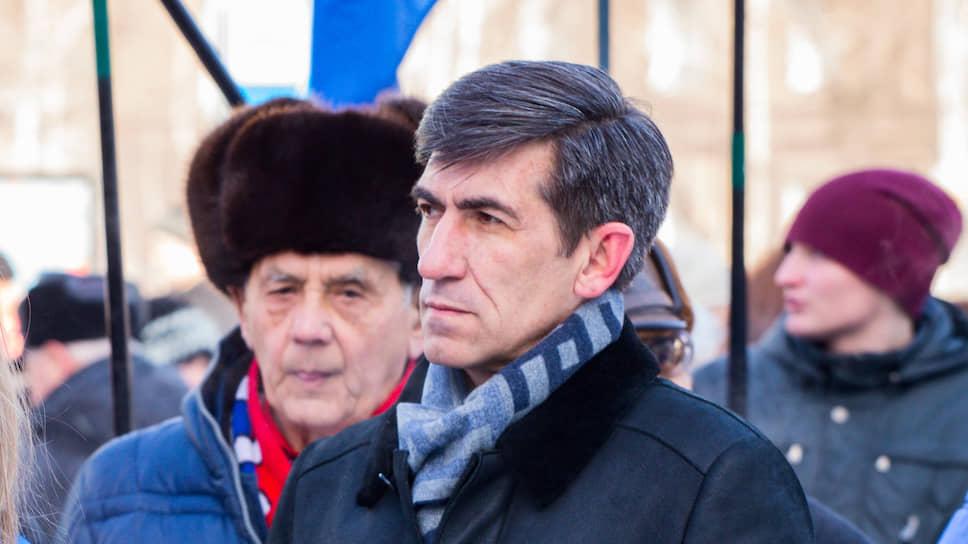 Лидер реготделения ЛДПР в Алтайском крае Алексей Скосырский