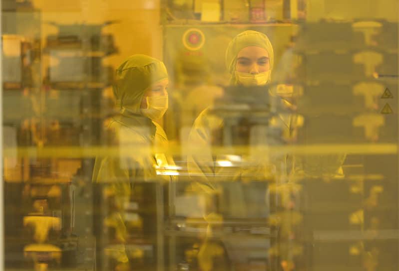 Зеленоград, Москва. Акция «День без турникетов» на заводе «Микрон»