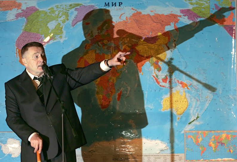 2005 год. Во время проведения XVII съезда ЛДПР в Московском бизнес-центре