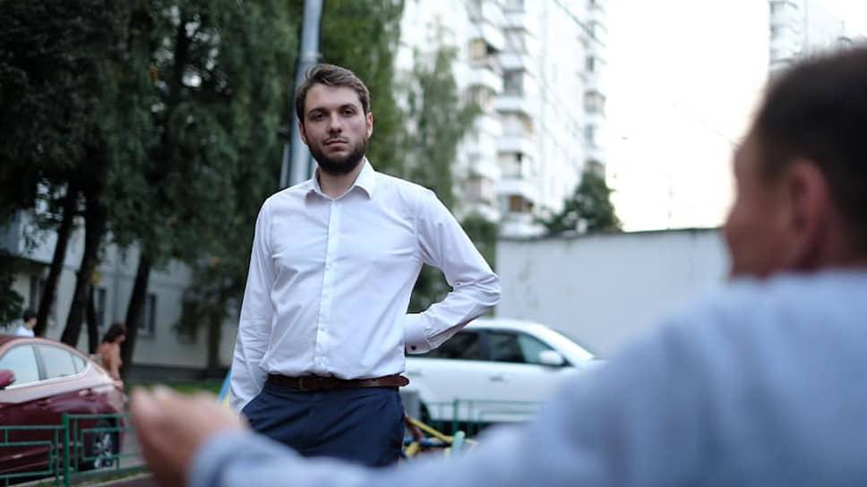 Экс-кандидат в депутаты Мосгордумы Роман Юнеман