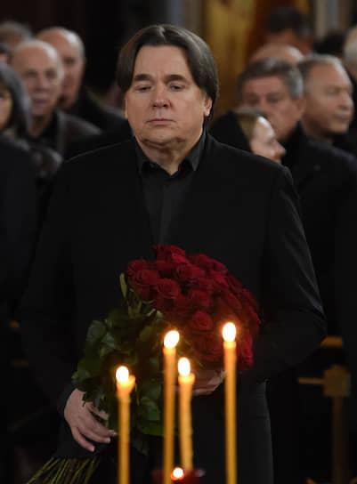 Генеральный директор «Первого канала» Константин Эрнст на церемонии прощания