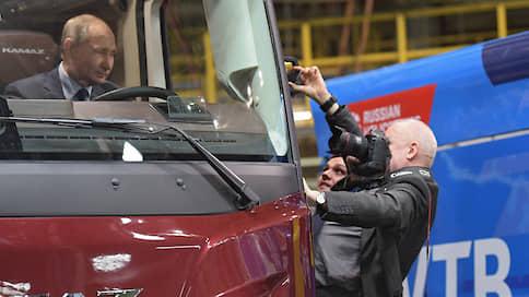 «День начинается с колес»  / Владимир Путин побывал на КамАЗе