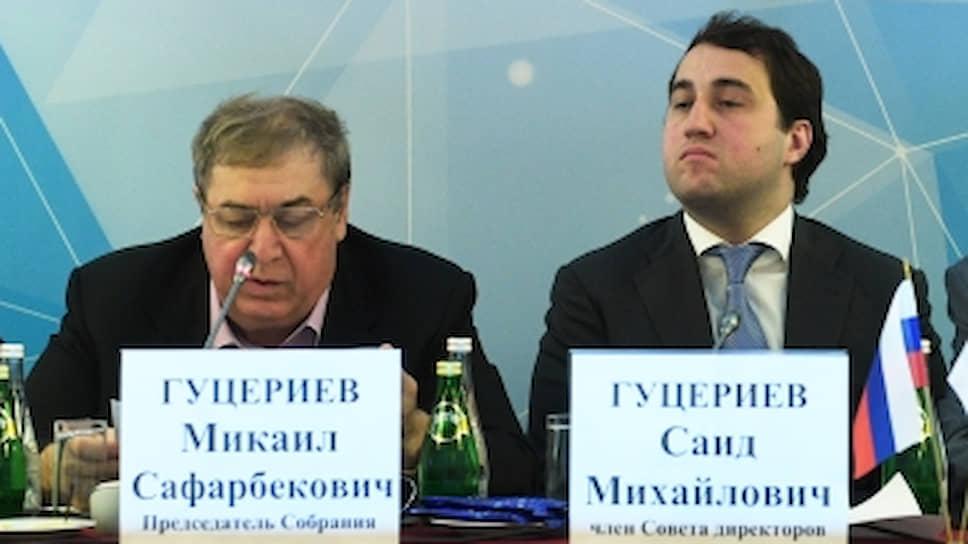 Бизнесмены Михаил Гуцериев и Саид Гуцериев