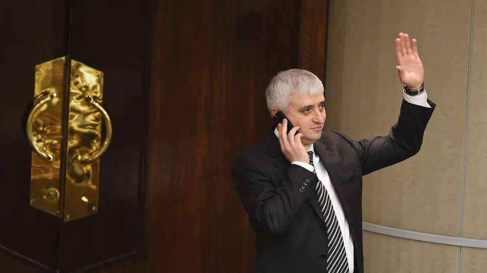 Член комитета Госдумы по промышленности Зураб Макиев