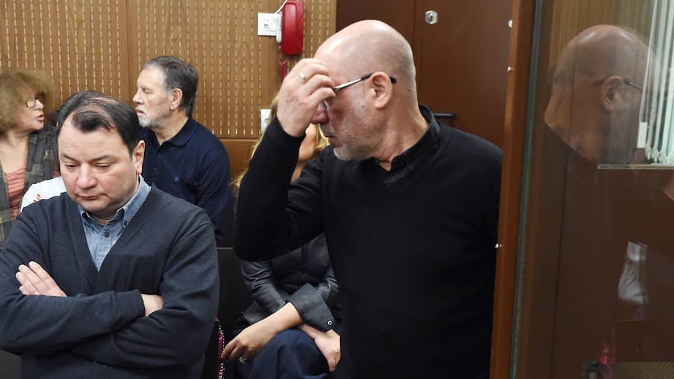 Бывший гендиректор «Седьмой студии» Юрий Итин (слева) и бывший директор «Гоголь-центра» Алексей Малобродский
