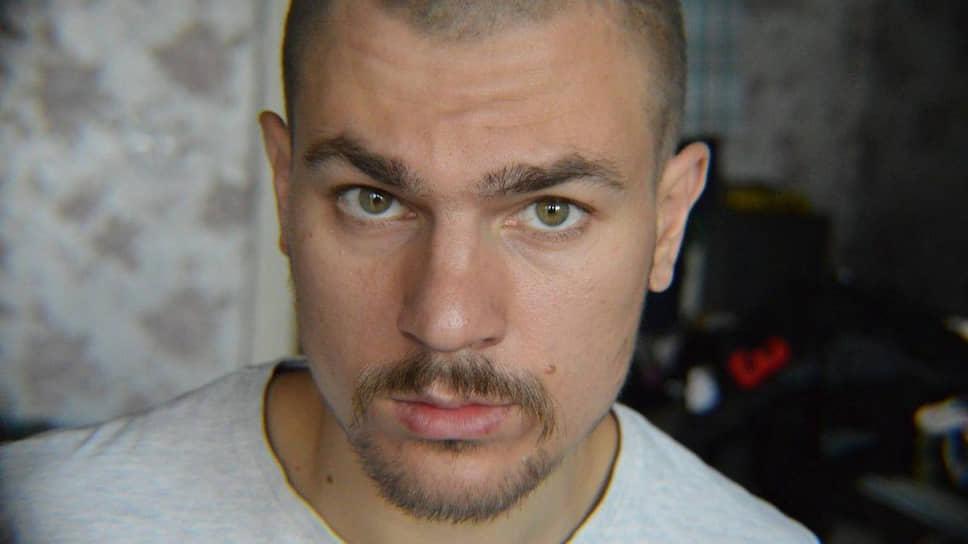 Обвиняемый по делу организации «Сеть» Дмитрий Пчелинцев