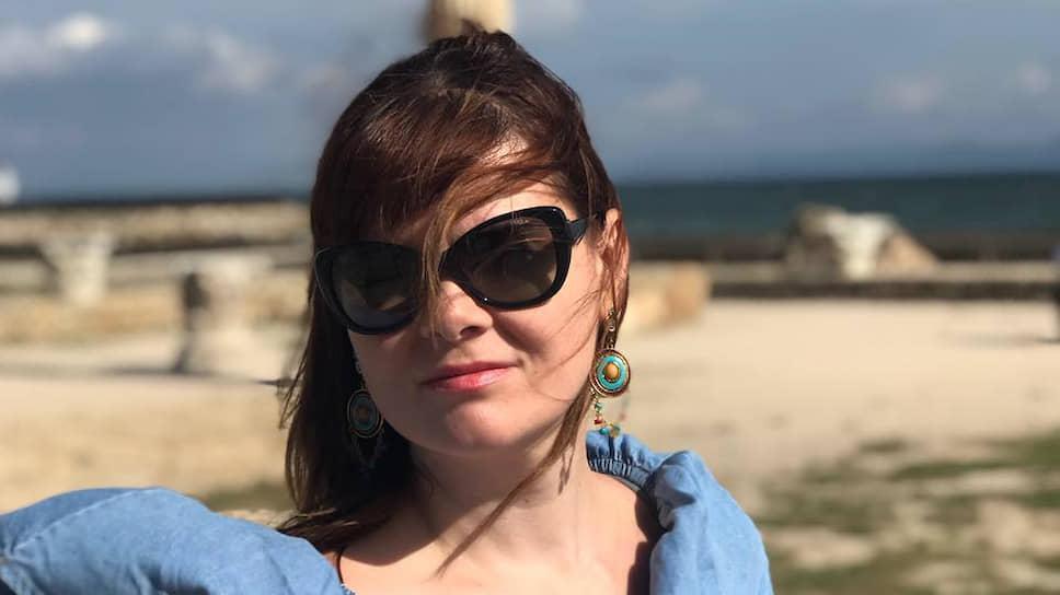Журналистка «Новой газеты» Юлия Полухина