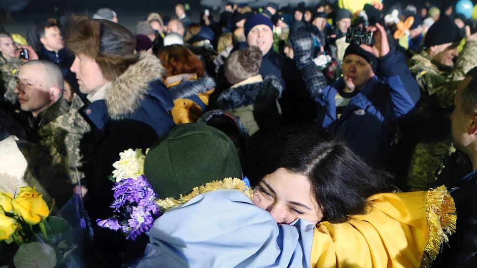 Обмен пленными на Донбассе в декабре 2017-го года