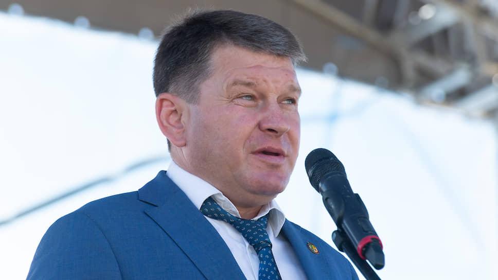 Глава Рамонского района Воронежской области Николай Фролов