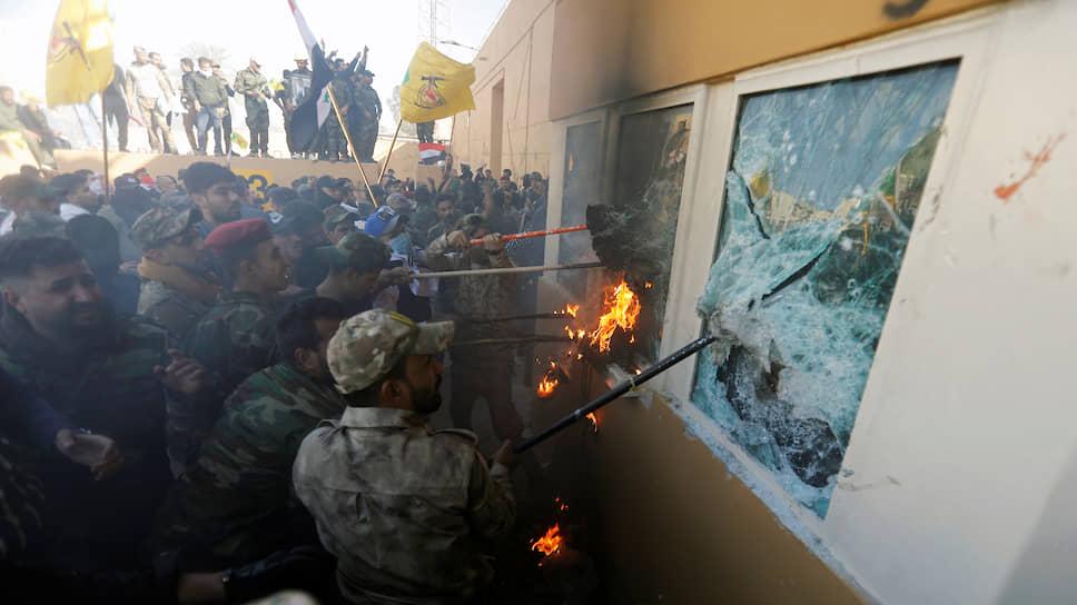 Попытка штурма американского посольства в Ираке