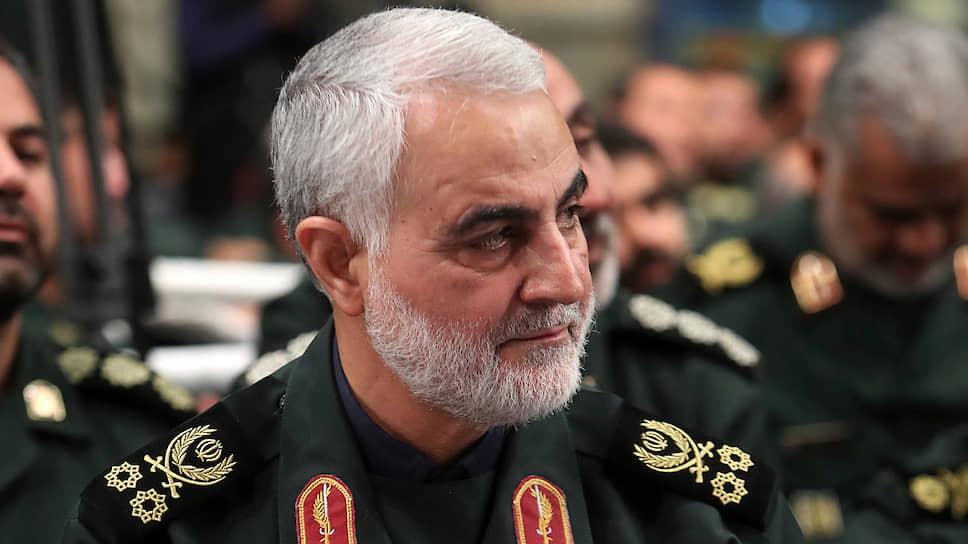 Погибший иранский генерал Касем Сулеймани