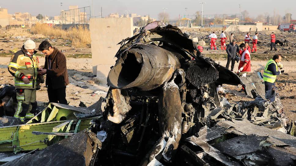 Иранские власти признали, что сбили украинский Boeing
