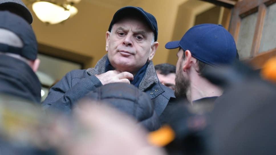 Лидер абхазской оппозиции Аслан Бжания