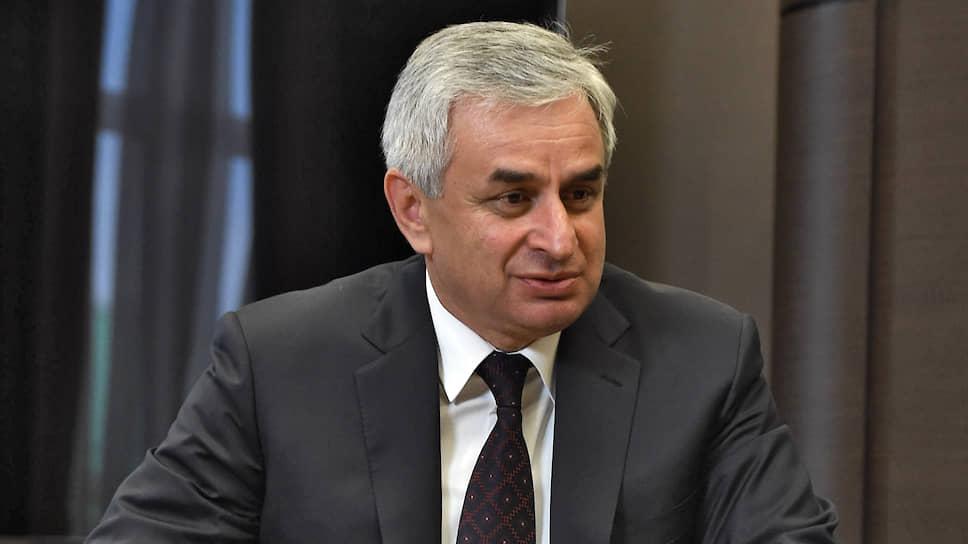 Экс-президент Абхазии Рауль Хаджимба