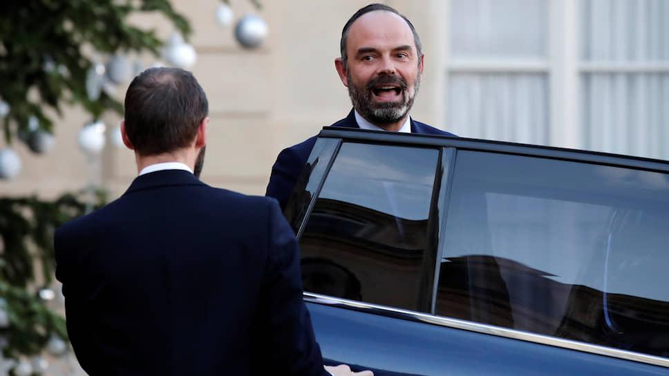 Премьер-министр Франции Эдуар Филипп