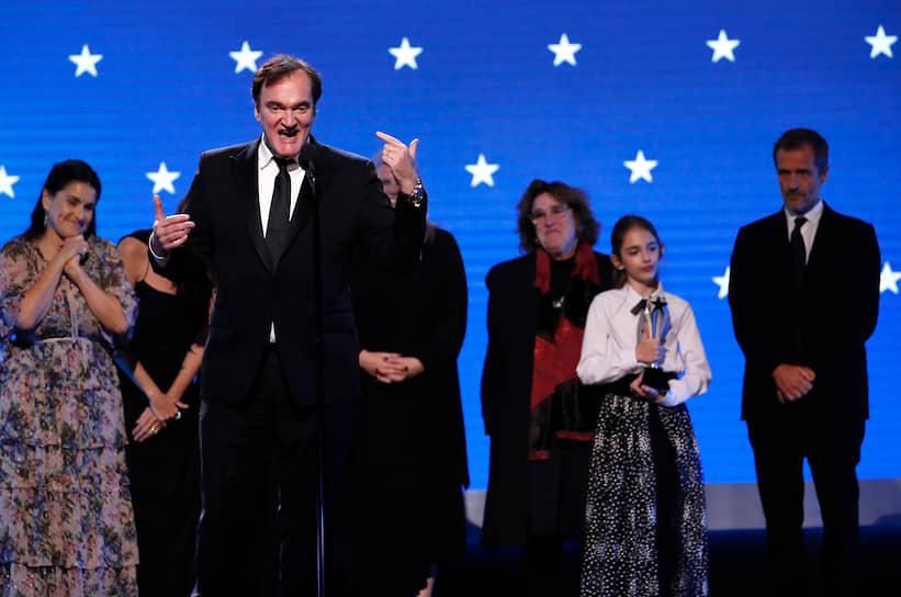 Режиссер Квентин Тарантино, чей фильм «Однажды в... Голливуде» был признан лучшим