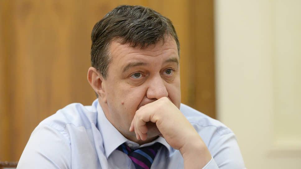 Спикер горсовета Липецка Игорь Тиньков