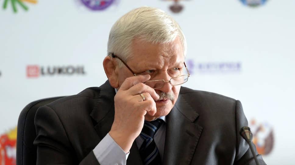Президент ВОГ Валерий Рухледев