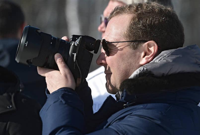 Рабочая поездка премьер-министра Дмитрия Медведева в Красноярск
