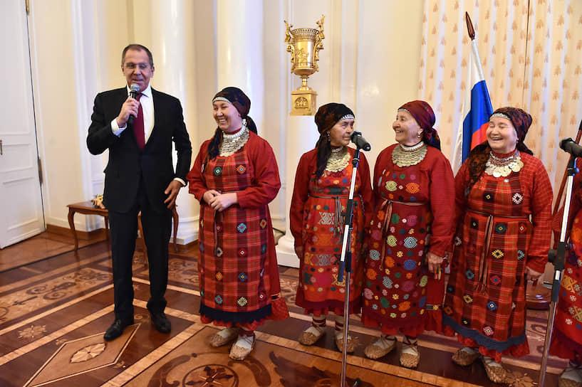 Глава МИД Сергей Лавров на презентации инвестиционного и экономического потенциала Удмуртии