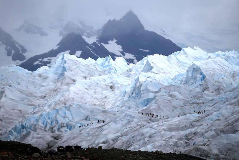 Эль-Калафате, Аргентина. Экспедиция альпинистов к леднику Перито-Морено