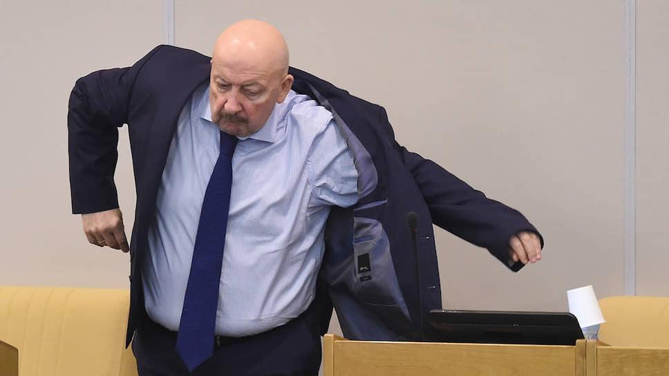 Депутат Госдумы от «Единой России» Гаджимет Сафаралиев