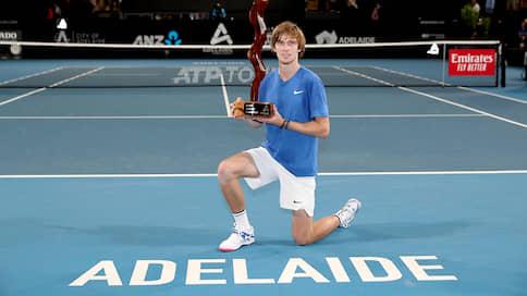 Андрей Рублев удивил двойкой // Перед Australian Open теннисист выиграл два титула подряд