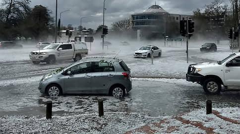 Погодные ненастья Австралии