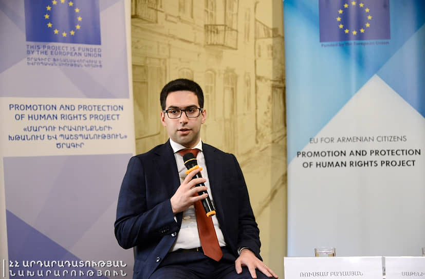 В декабре 2019 года 28-летний Рустам Бадасян стал министром юстиции Армении