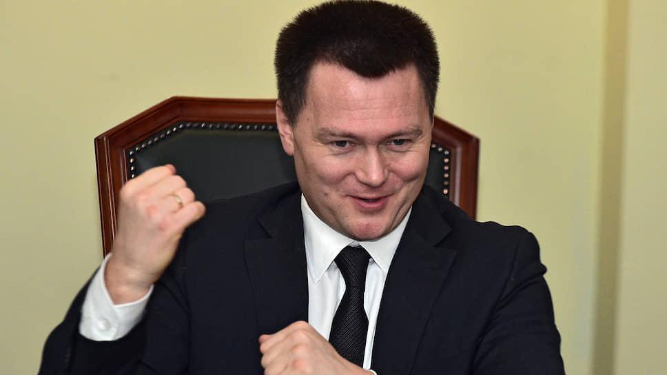 Кандидат на должность генпрокурора РФ, замглавы СКР РФ Игорь Краснов