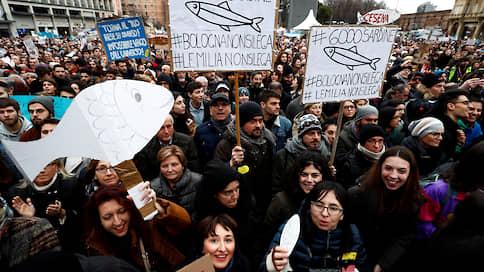 Правой «Лиге» подложили левые «Сардины»  / В Италии растет популярность очередного антисистемного движения