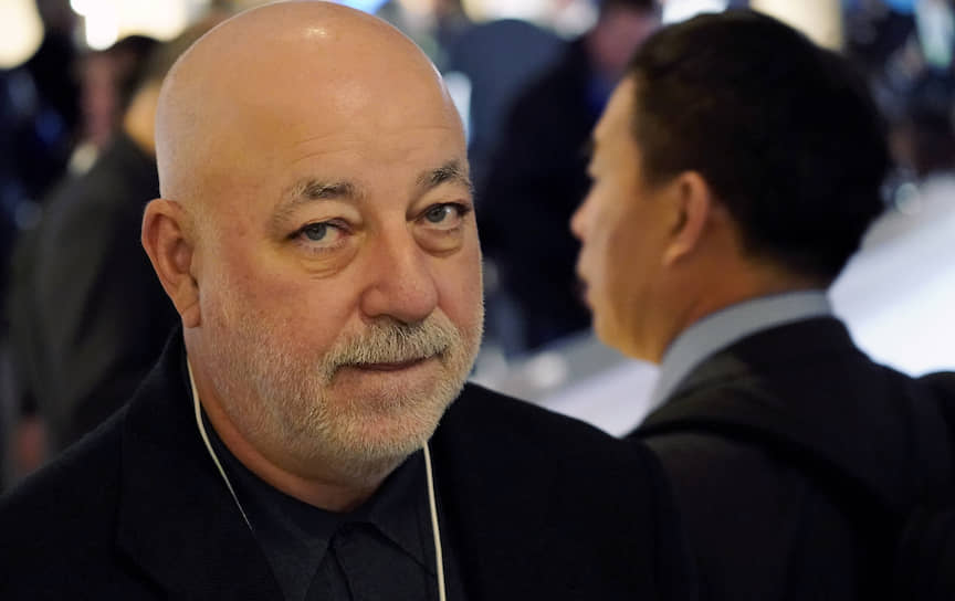 Президент фонда «Сколково» Виктор Вексельберг в Давосе