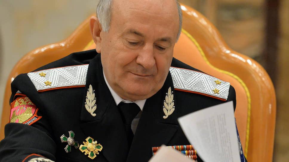 Атаман Всероссийского казачьего войска Николай Долуда