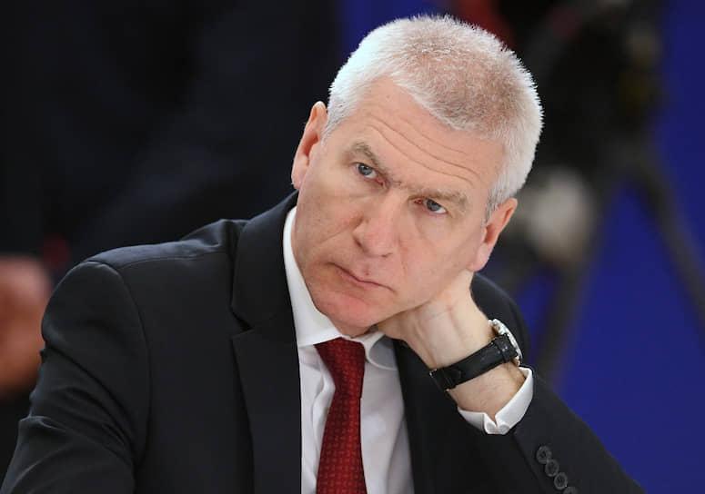 Министр спорта — Олег Матыцин