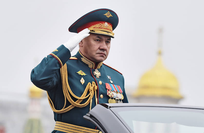 Министр обороны — Сергей Шойгу