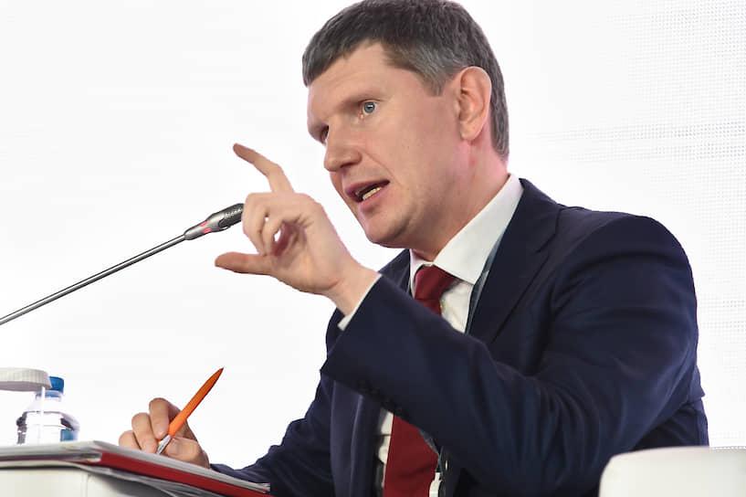 Министр экономического развития — Максим Решетников