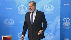 Minister of Foreign Affairs - Sergey Lavrov