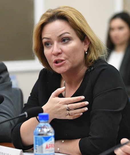 Министр культуры — Ольга Любимова