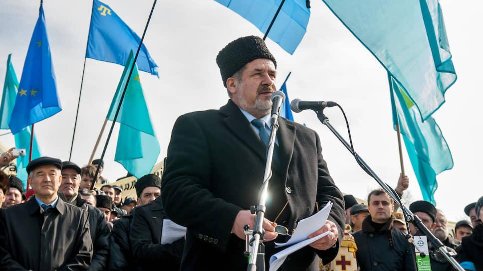 Глава Всемирного конгресса крымских татар Рефат Чубаров