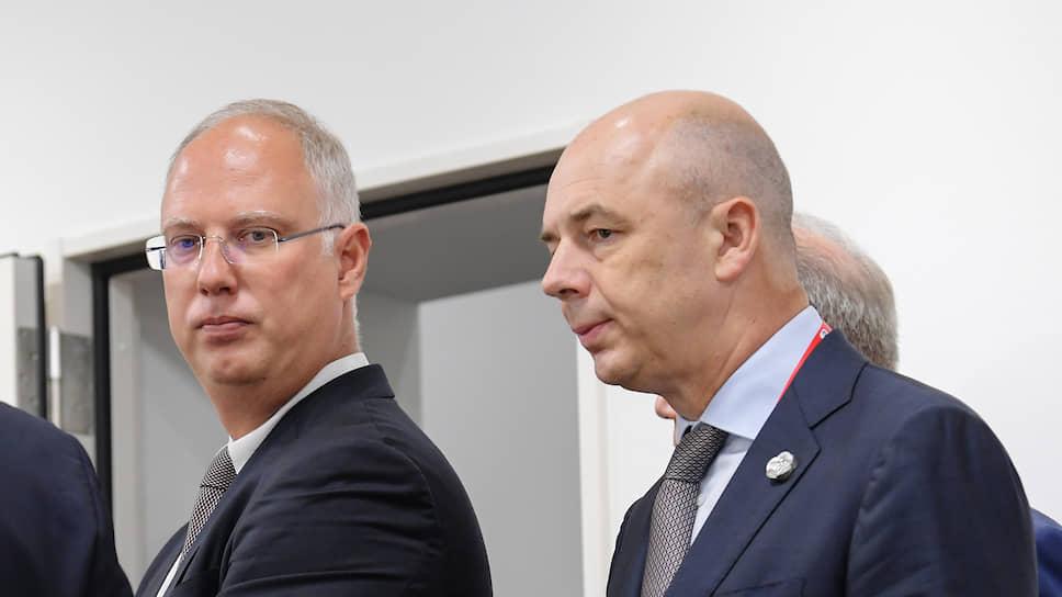Глава РФПИ Кирилл Дмитриев и министр финансов Антон Силуанов