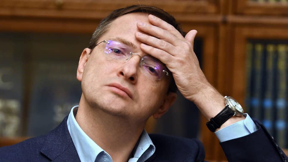 Помощник президента Владимир Мединский