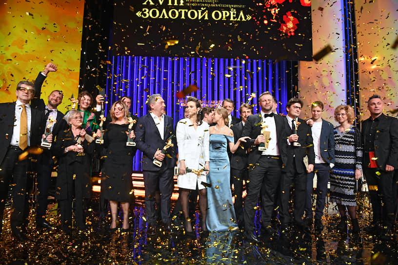 Торжественная церемония вручения премии «Золотой Орел»
