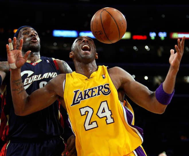 В 1991 году семья Брайантов вернулась из Италии в США. В Филадельфии Брайант начал играть за школьную баскетбольную команду, в составе которой стал чемпионом штата. Сразу после школы в 1996 году он драфтовался в НБА, где недолго играл за «Шарлотт Хорнетс», после чего был передан в «Лос-Анджелес Лейкерс»