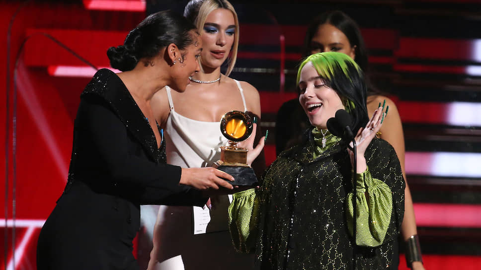 Grammy встряхнуло