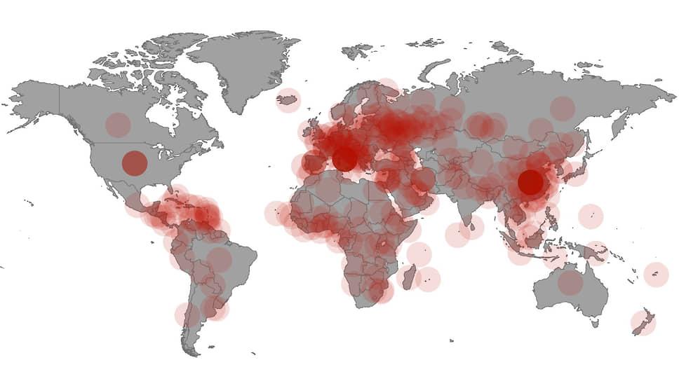 Коронавирус-2020 в Китае и мире