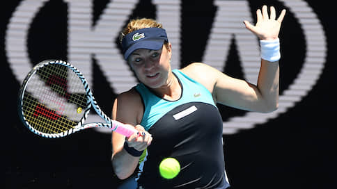 Последнее непопадание  / Анастасия Павлюченкова не дошла до полуфинала теннисного Australian Open