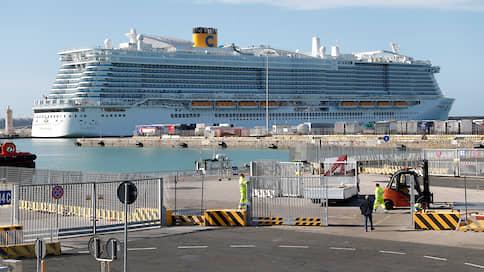 Италия ждет у моря анализов  / Тысячи людей на круизном лайнере задержаны из-за коронавируса